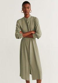 Mango - LACY - Day dress - khaki - 0