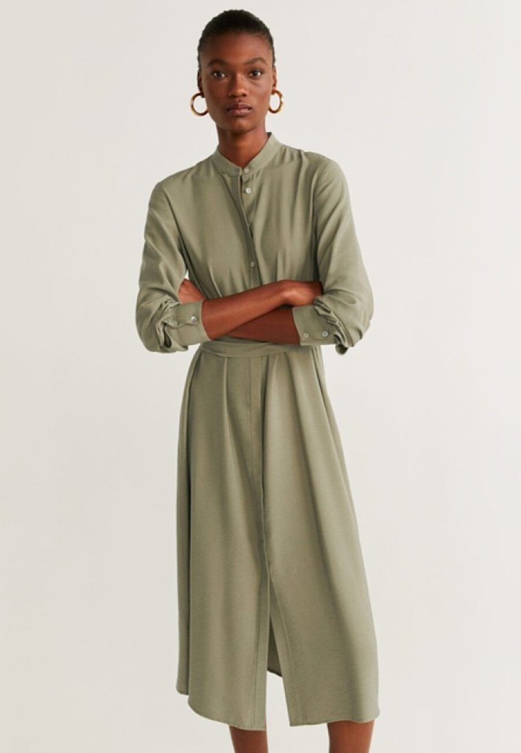 Mango - LACY - Day dress - khaki