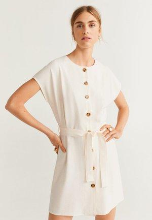 PERK-H - Robe chemise - off white