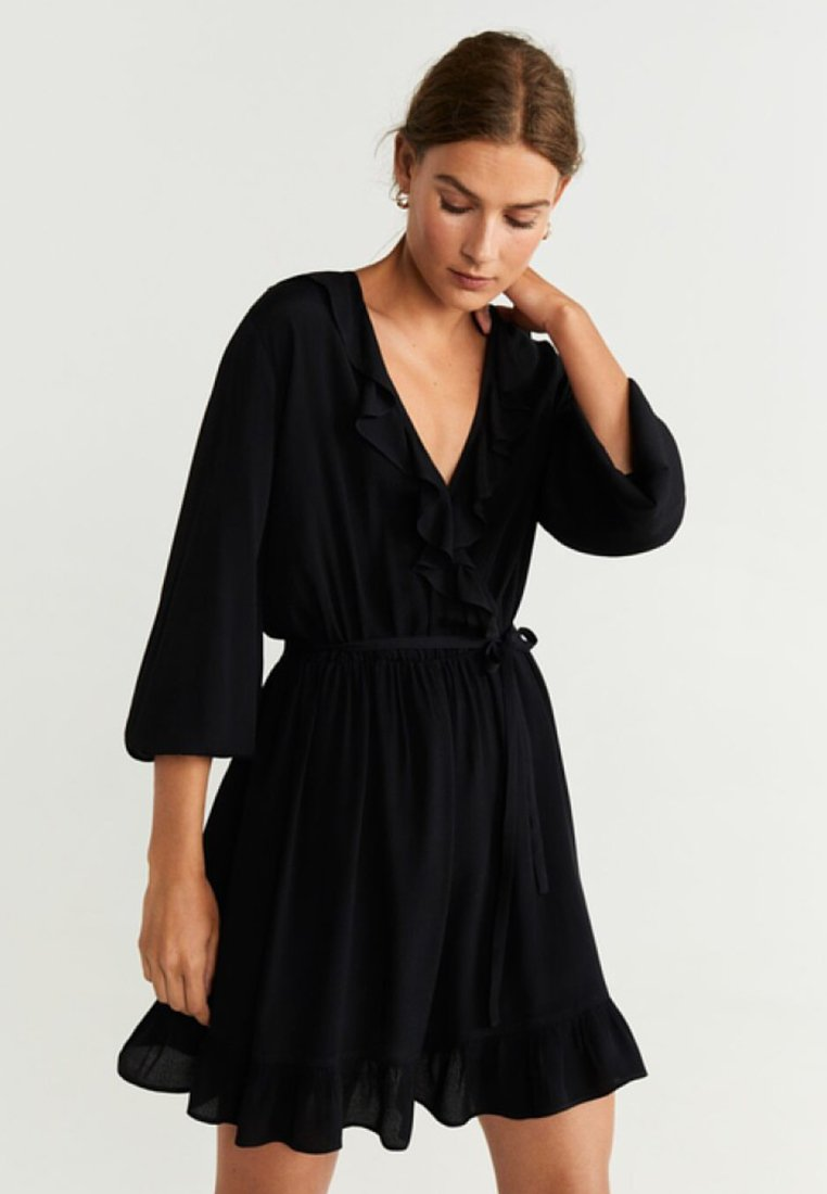 Mango - SALTI - Day dress - black