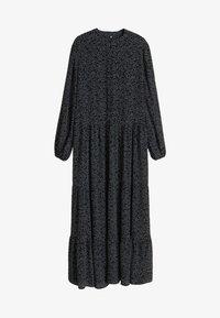 Mango - TOPI - Robe longue - black - 3