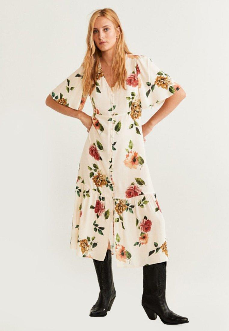 Mango - DELO - Maxi dress - off-white