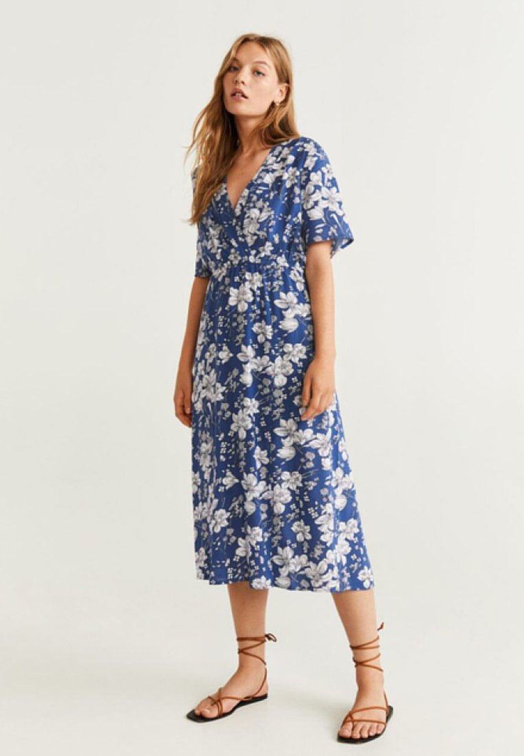 Mango - MOON - Maxi dress - blue