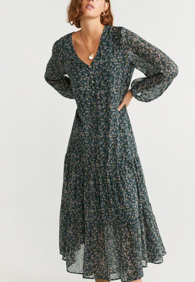 Mango - LIBERTY - Maxi dress - green
