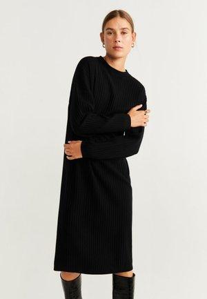 HUNTER - Jumper dress - black
