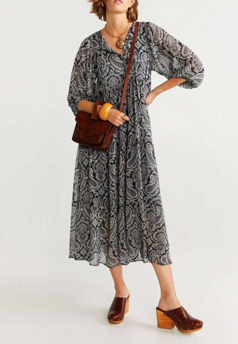 Mango - SAN - Maxi dress - black