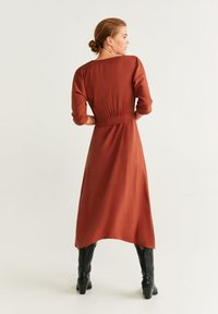 Mango - GEMA - Day dress - Orange/red - 1