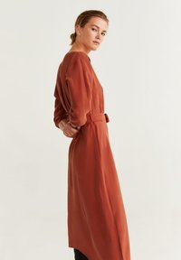 Mango - GEMA - Day dress - Orange/red - 2