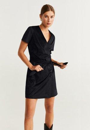 NINA - Korte jurk - black