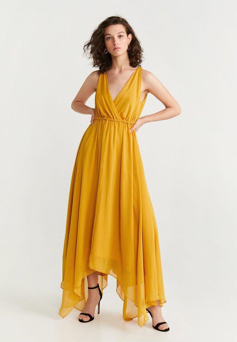 Mango - KINDER  - Vestido largo - mustard yellow