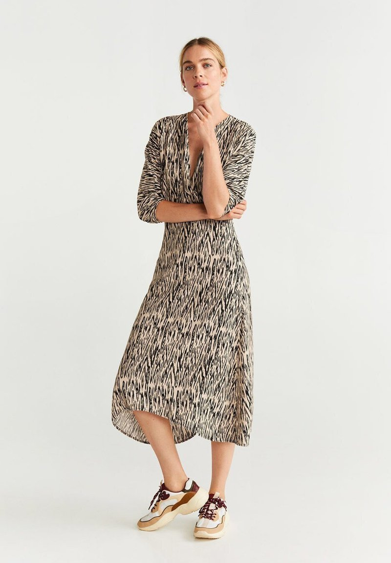 Mango - CAMERON - Maxi dress - beige