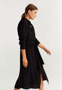 Mango - DOTTY - Robe chemise - black - 2