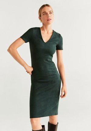 SUSAN - Shift dress - dark green