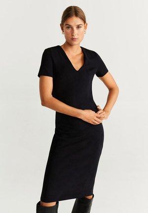 SUSAN - Sukienka etui - black