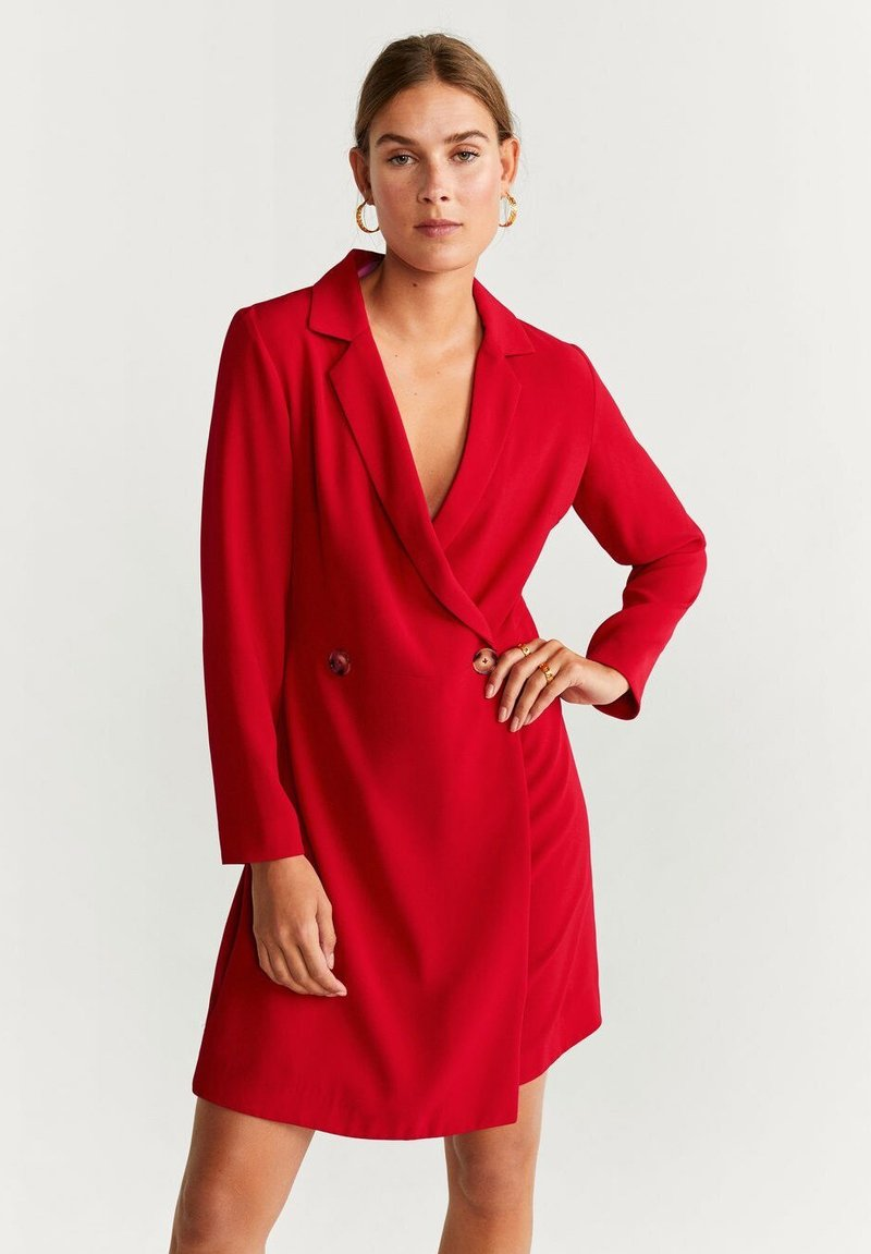 Mango - GARAZI - Robe fourreau - red