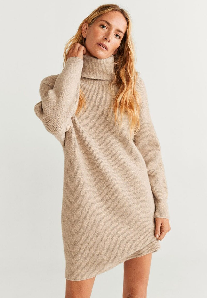 Mango - Jumper dress - marl