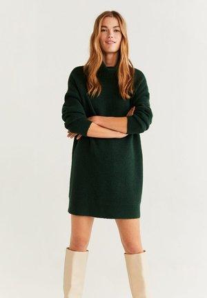 ROBERT - Jumper dress - dark green