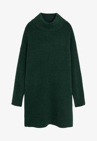 Mango - ROBERT - Jumper dress - dark green - 3