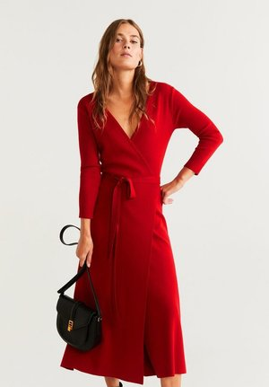 ZEN - Robe pull - red