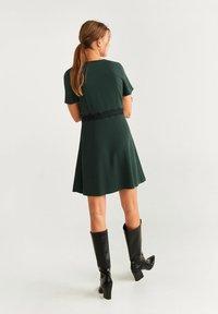 Mango - AUDREY - Korte jurk - dark green - 2
