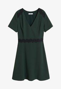Mango - AUDREY - Korte jurk - dark green - 3