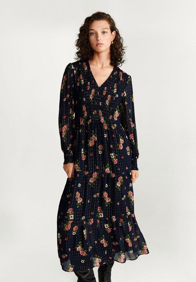 Mango - FLORA - Day dress - black