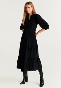 Mango - RUTH - Maxikleid - black - 0
