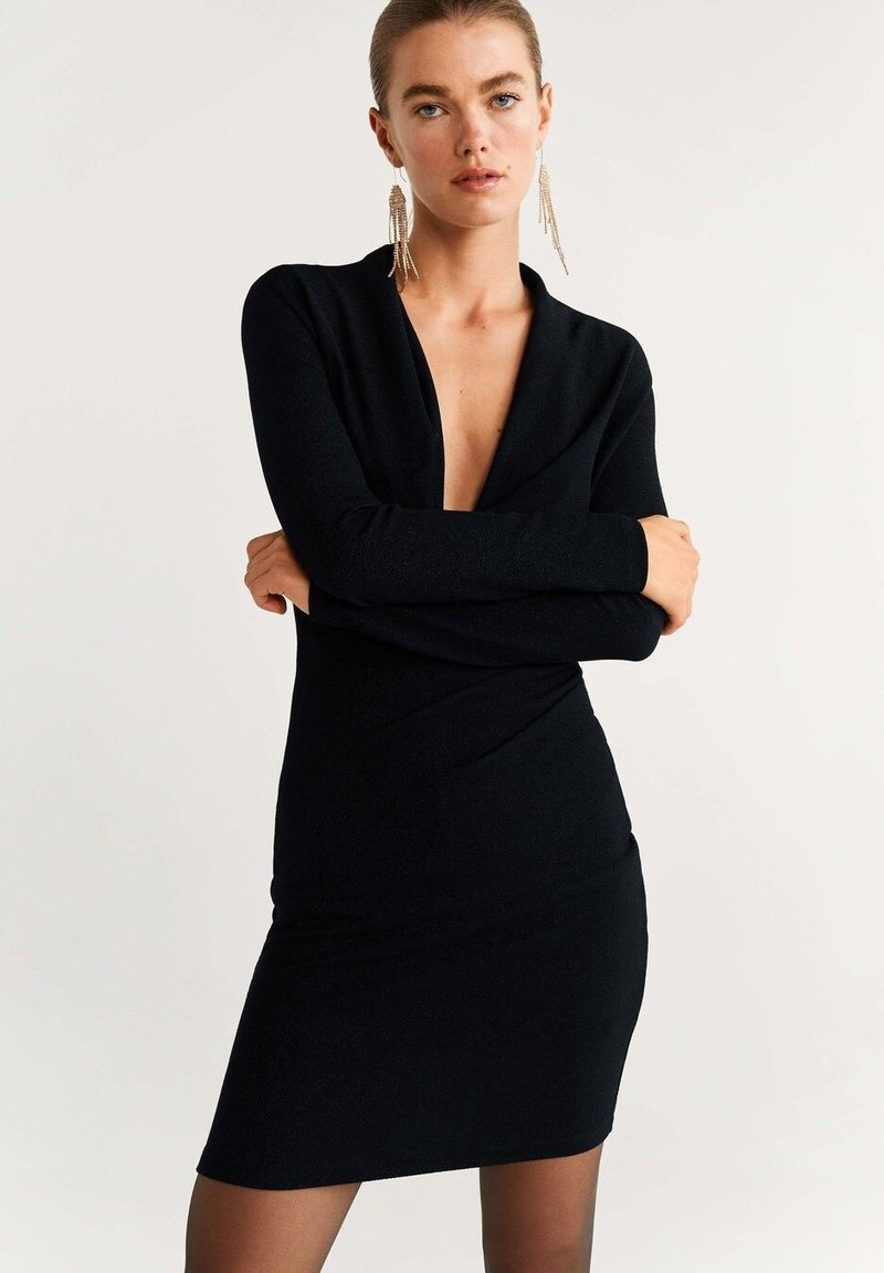 Mango - DISCOVES - Cocktail dress / Party dress - black