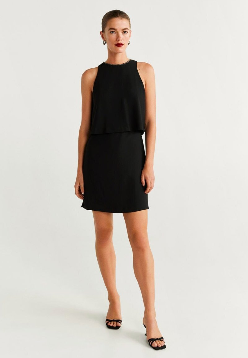 Mango - COLLARET - Robe de soirée - black