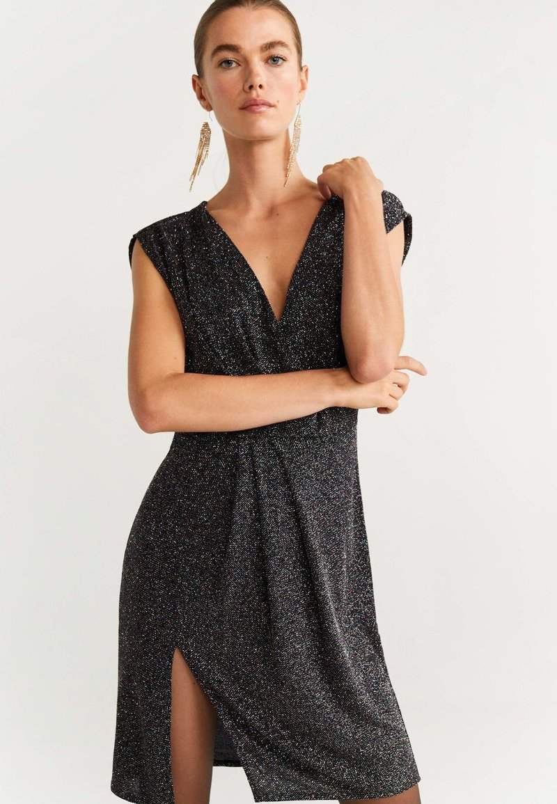 Mango - BRILLI - Cocktailkjole - black