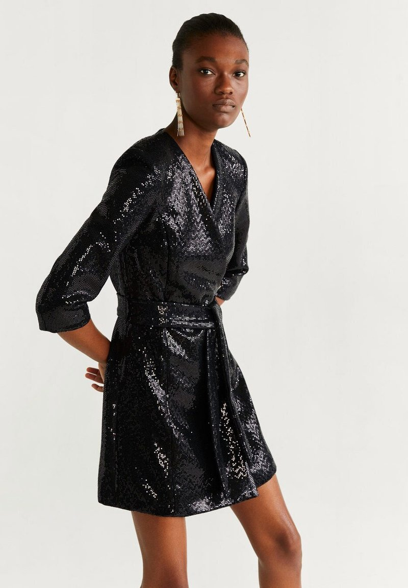Mango - DISCO - Cocktail dress / Party dress - black