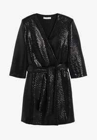 Mango - DISCO - Cocktail dress / Party dress - black - 3