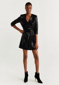 Mango - DISCO - Cocktail dress / Party dress - black - 1