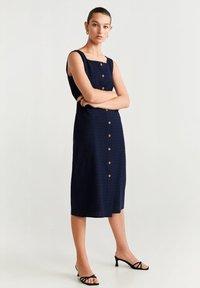 Mango - URSULA - Sukienka koszulowa - royal blue - 1
