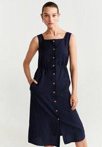 Mango - URSULA - Sukienka koszulowa - royal blue - 0