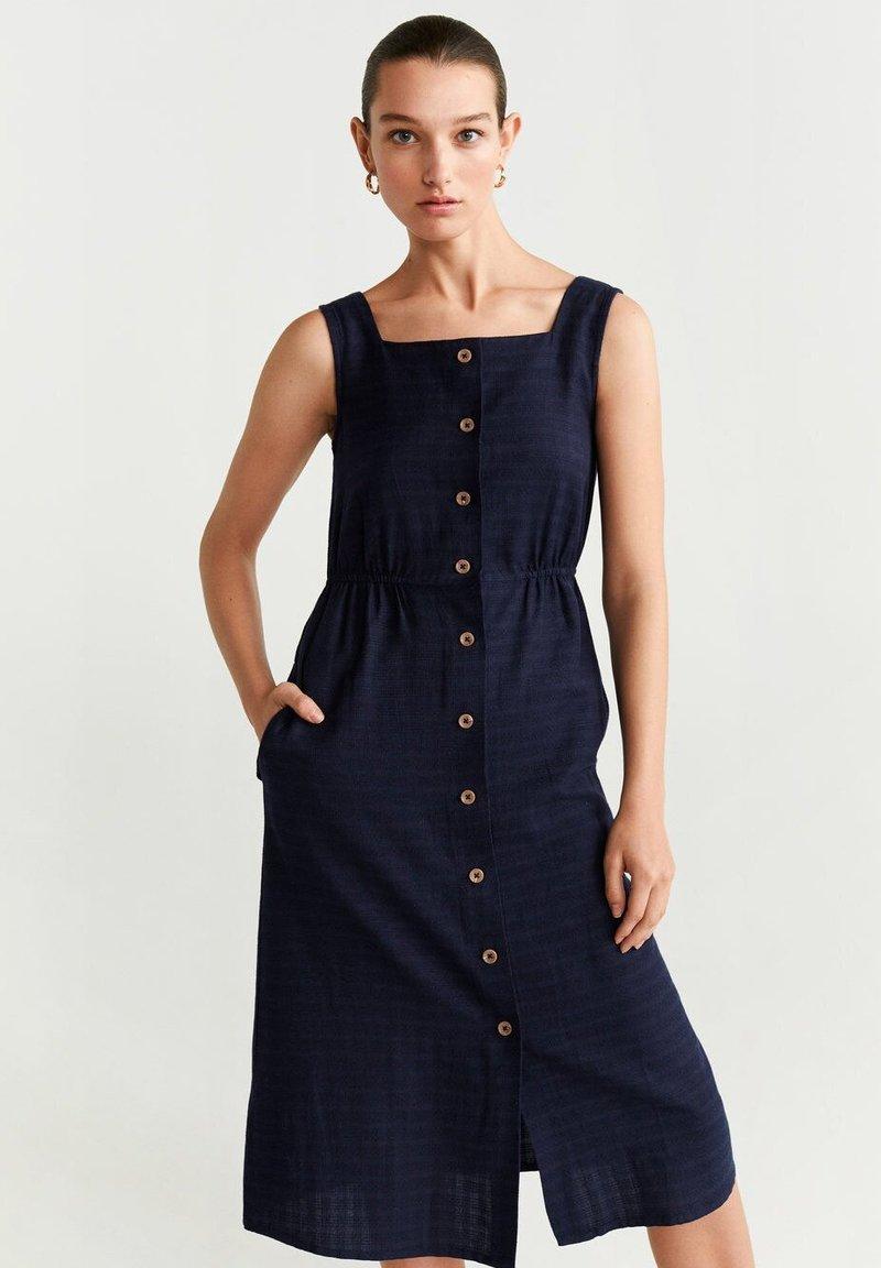 Mango - URSULA - Sukienka koszulowa - royal blue