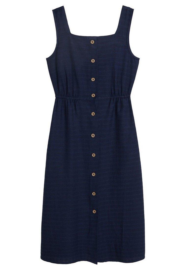 Mango Ursula - Abito A Camicia Royal Blue BfNj16d