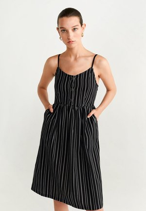ESTRELAP - Day dress - black