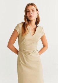 Mango - COFI - Korte jurk - beige - 3