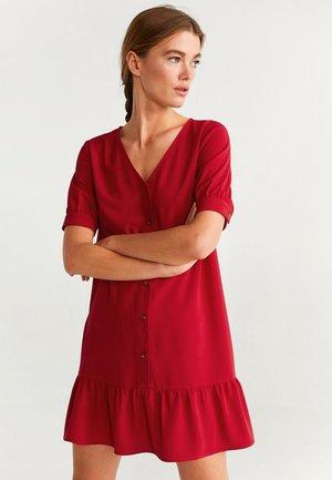 DALI - Blousejurk - red