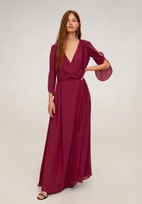 Mango - BLIS - Robe longue - purple - 0