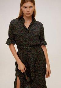 Mango - ARABY - Sukienka koszulowa - khaki - 3