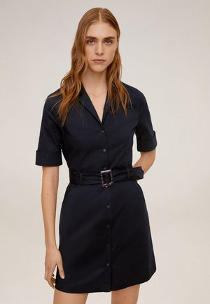 MEXI - Shirt dress - navy blue