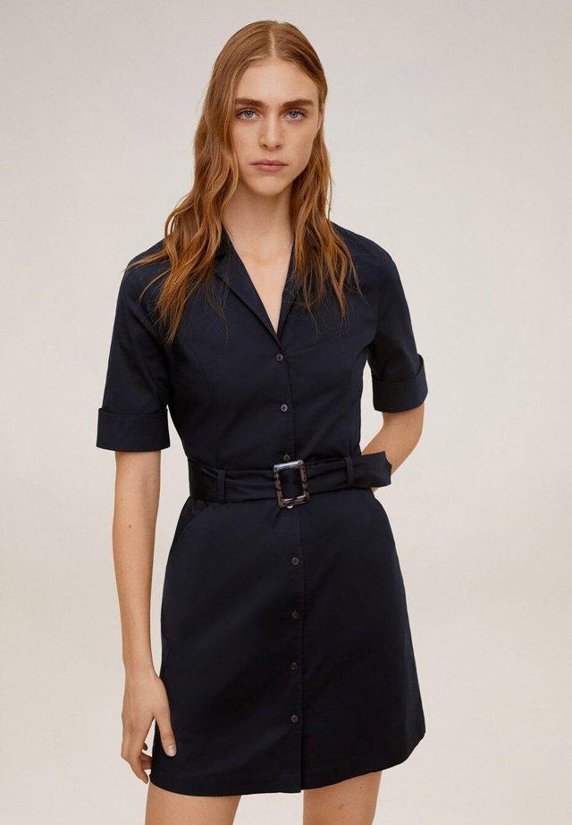 MEXI - Shirt dress - navy blue