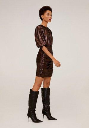 BRONZE-I - Robe de soirée - brown
