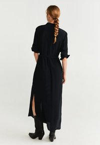 Mango - NINGBOX - Shirt dress - black - 1