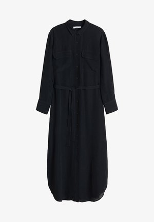 NINGBOX - Shirt dress - black