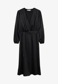 Mango - VEGAS - Vestido largo - black - 3