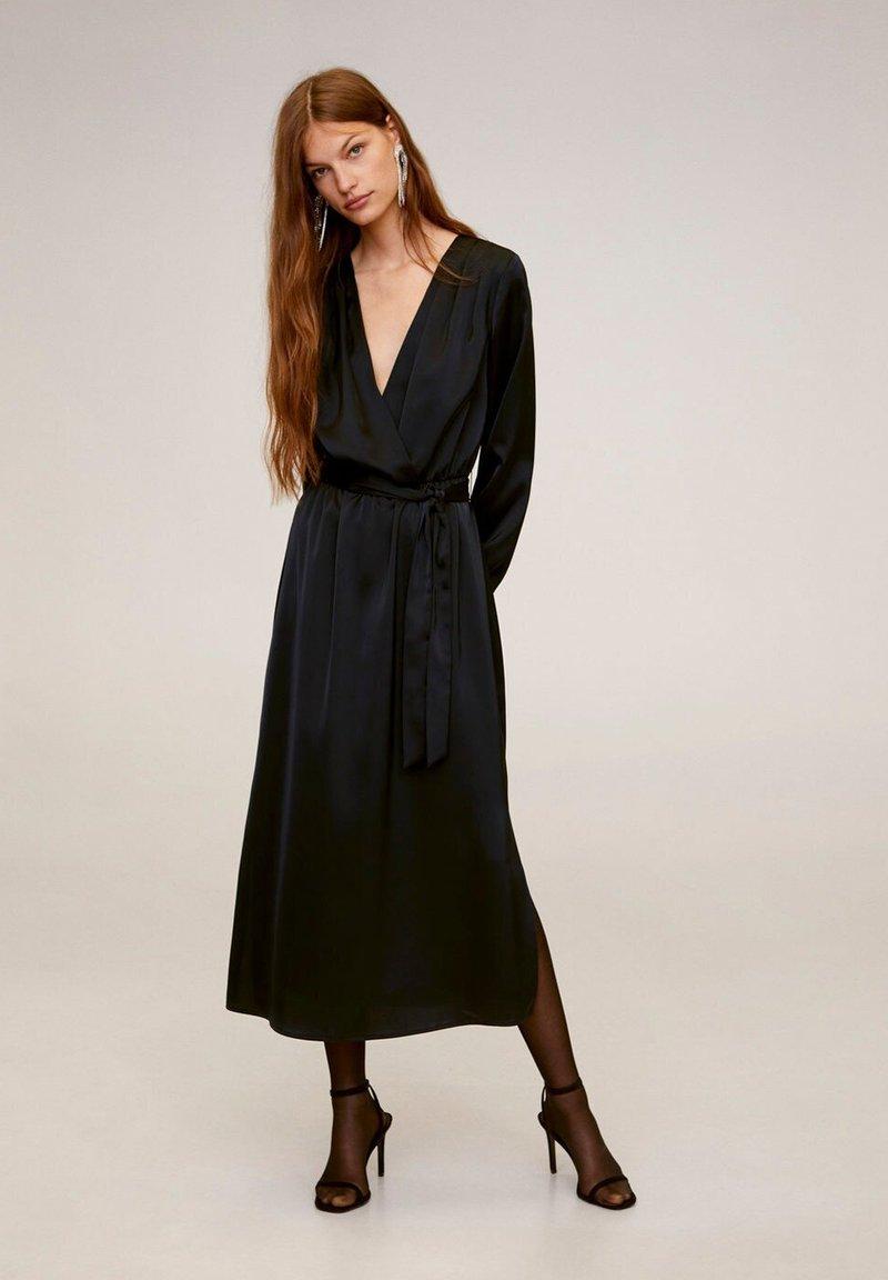 Mango - VEGAS - Vestido largo - black