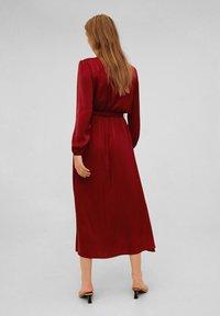 Mango - ANDREA - Day dress - Medium red - 2